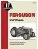 FE2 Massey Ferguson Tractor Manual